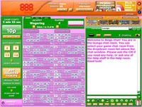 888bingo 90 Ball Room