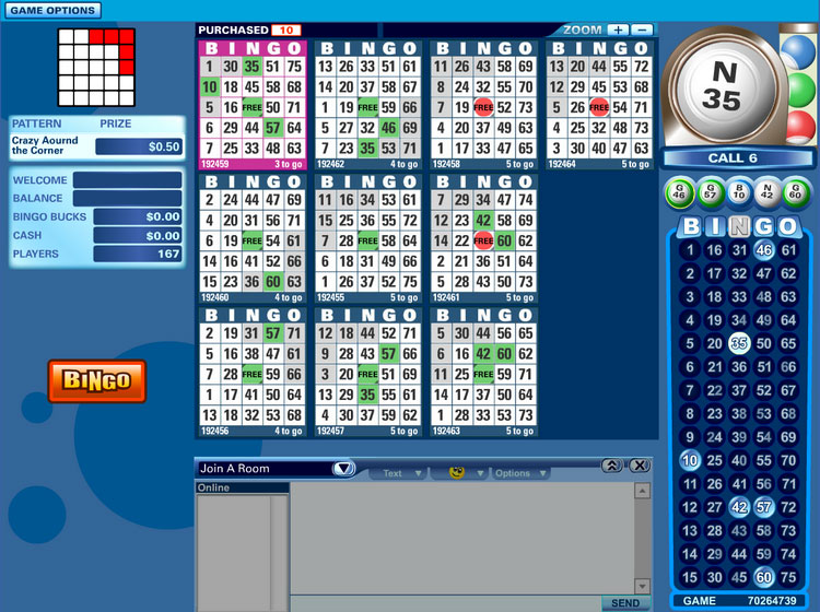 online bingo games for money