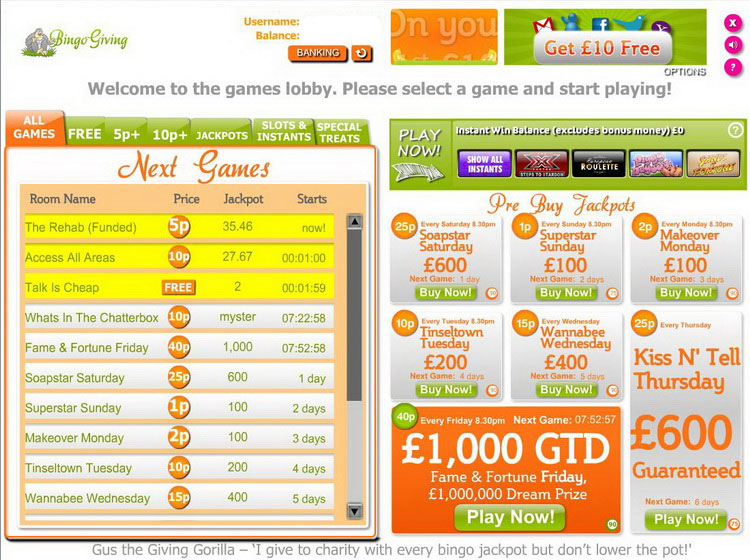 Charity Bingo Review – Is this A Scam/Site to Avoid