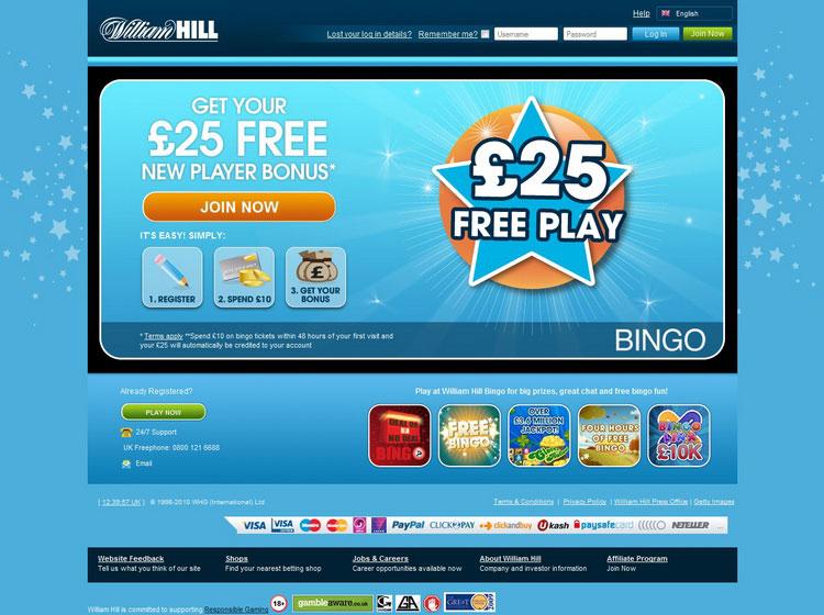 William hill bingo forum student internet gambling