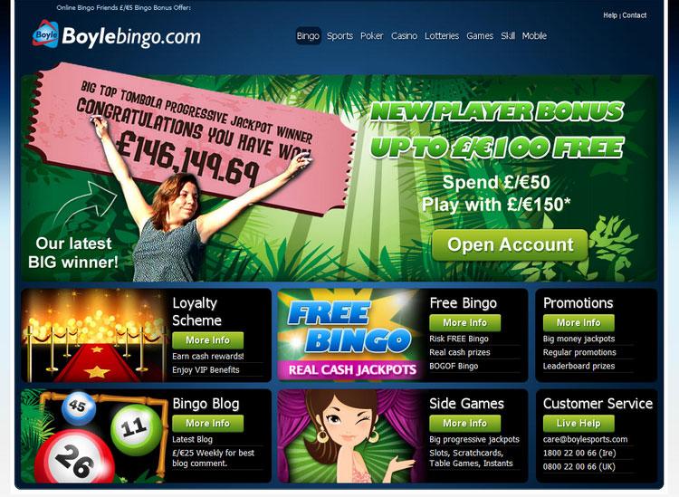 Boyle bingo newry opening times