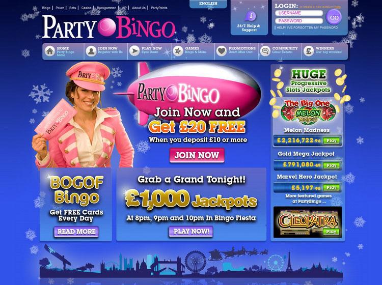 Deposit 3 pound bingo game